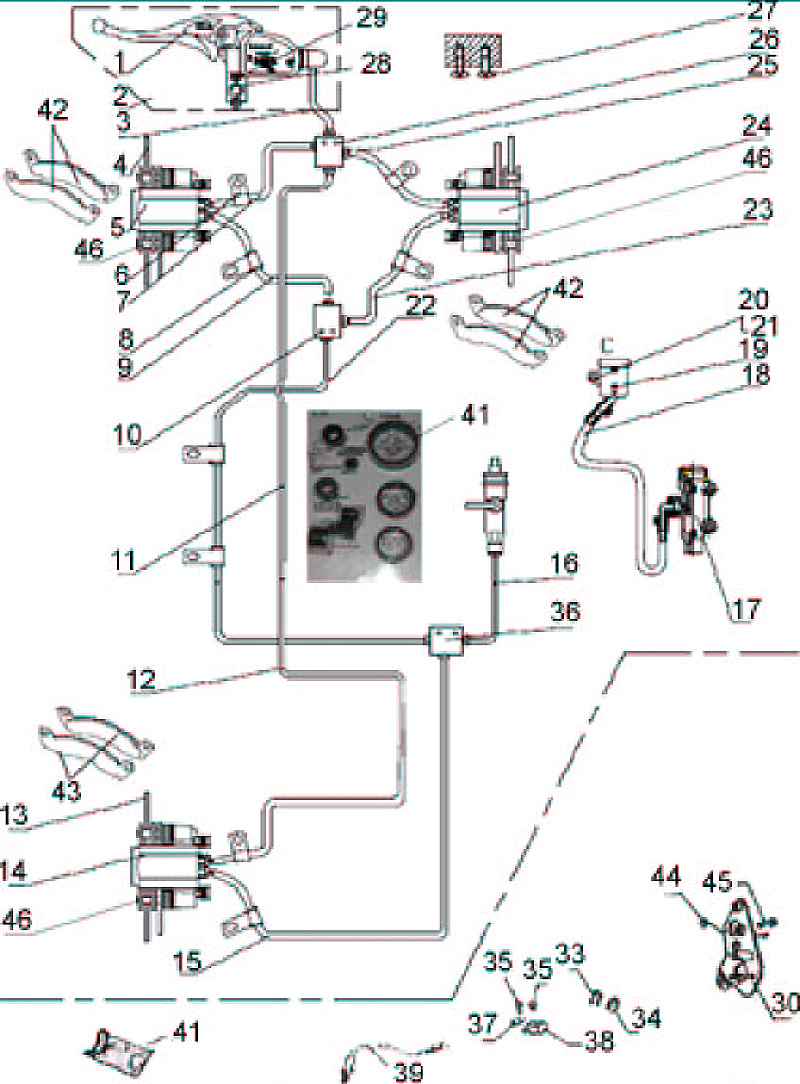 odes utv wiring diagram odes wire harness images