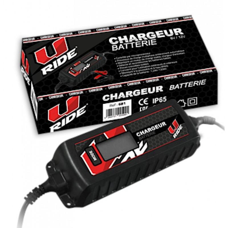 Chargeur de batterie quad et moto.