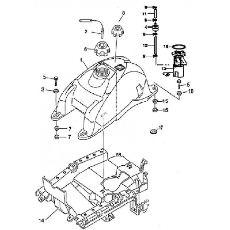 pompe à essence pour quad Masai A 450