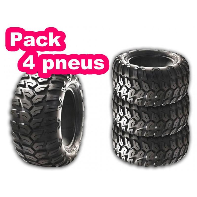 Pack 4 Pneus Quad Sun A 021
