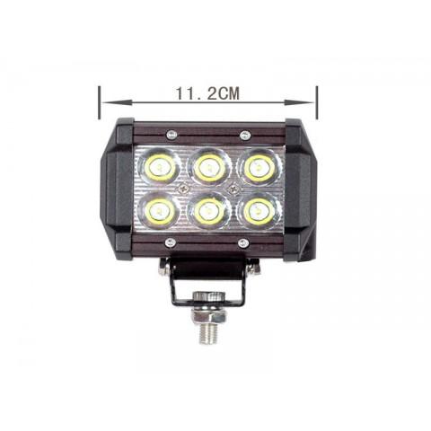 Rampe d'éclairage LEDs 18W