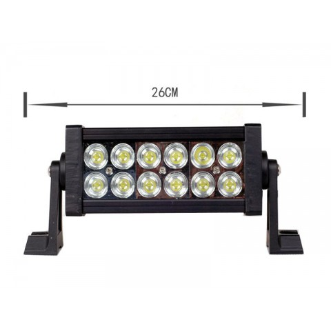Rampe d'éclairage LEDs 36W