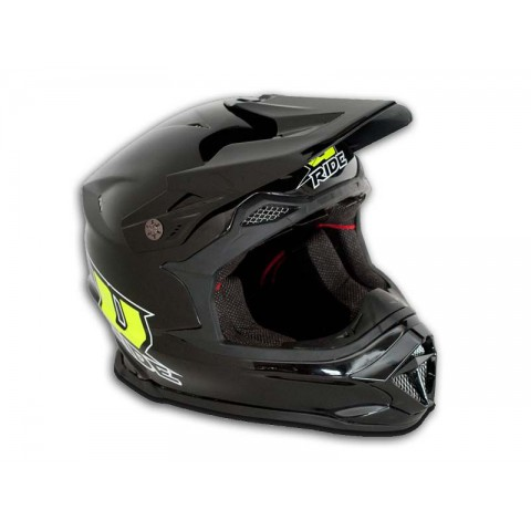 Casque MX-1 Cross U-RIDE  en fibre de carbone et Kevlar