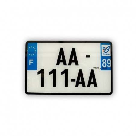 Plaques d'immatriculation AR - 210 x 130 mm