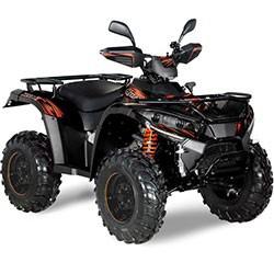 Vue éclatée des pièces détachées pour votre quad Hytrack HY 500 T