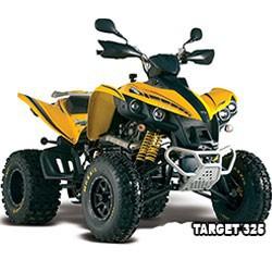 Vue éclatée des pièces détachées pour votre quad TGB TARGET 325