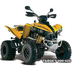 Vue éclatée des pièces détachées pour votre quad TGB TARGET 400 ou 425 4X4