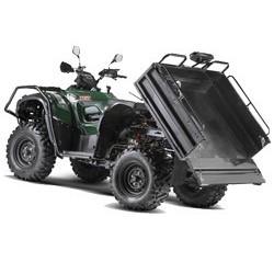 Vue éclatée des pièces détachées pour votre quad TGB FARM 600 EPS