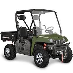 Vue éclatée des pièces détachées pour votre quad Hytrack JOBBER 500