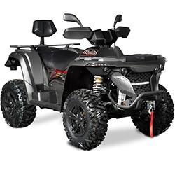 Vue éclatée des pièces détachées pour votre quad Hytrack HY570 IS EPS